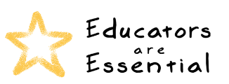 educators are essential logo