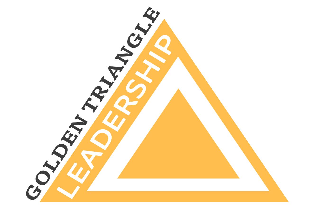 golden triangle leadership logo