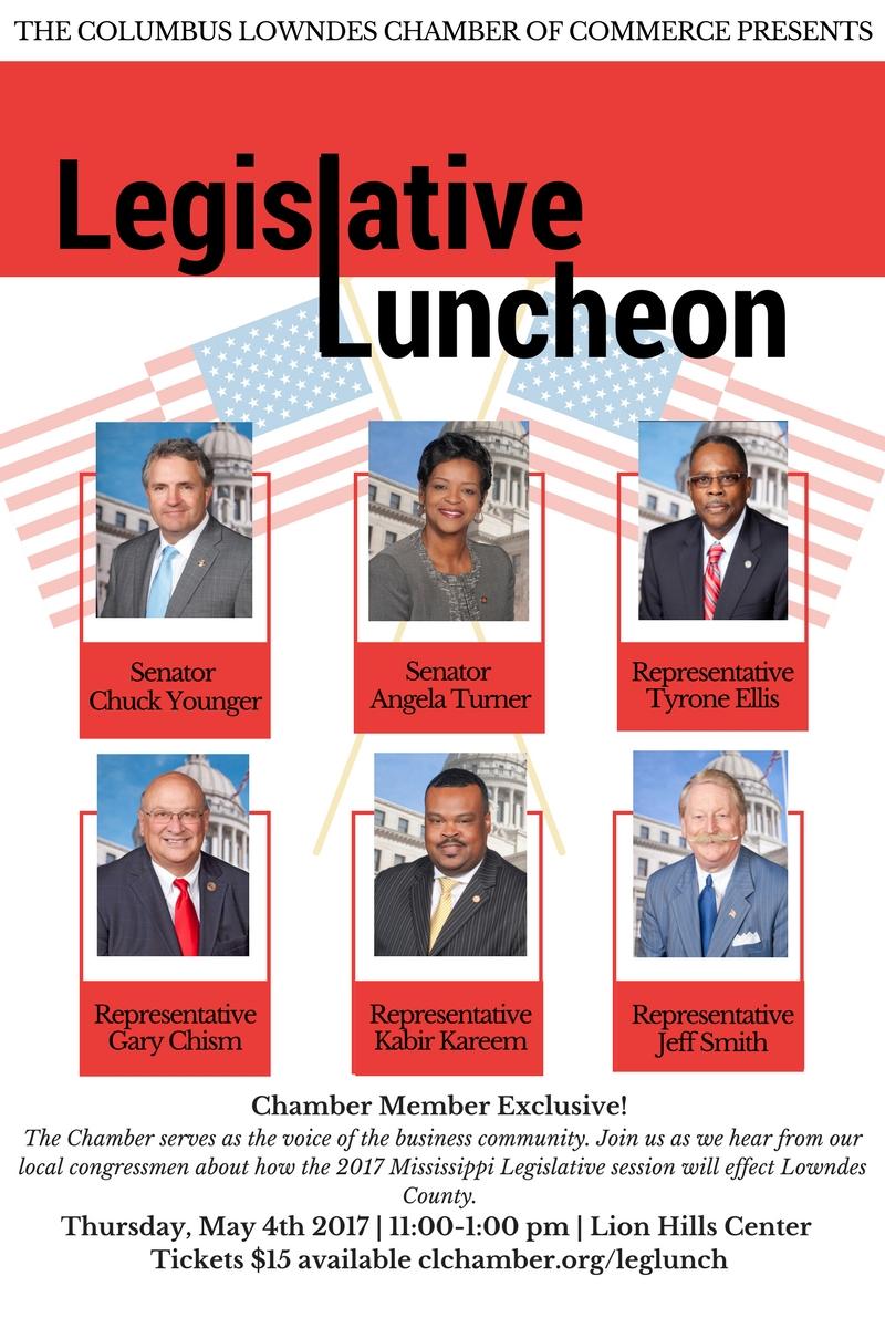 Legislative Luncheon Spring 2017